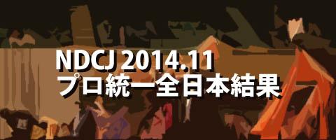 NDCJ 2014.11 プロフェッショナル統一全日本ダンス選手権 プロ結果