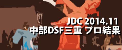 JDC 2014.11 中部ダンススポーツフェスティバルin三重 プロ結果